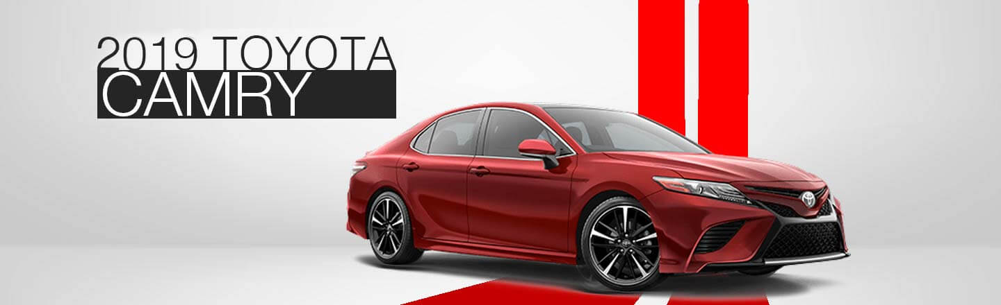 2019 Toyota Camry Available in Waco, Texas At Jeff Hunter Toyota