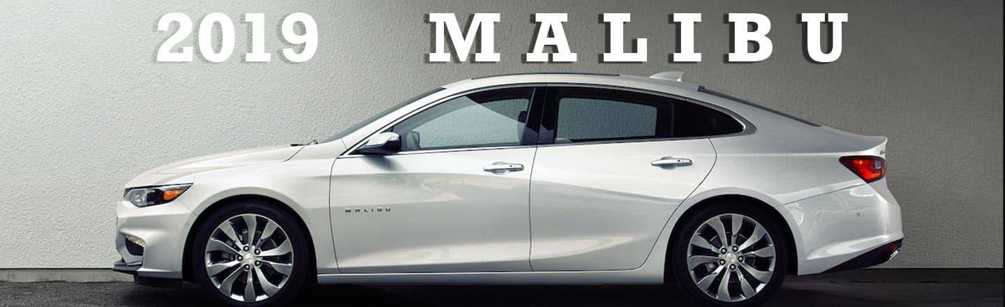 The 2019 Chevy Malibu Is Loaded With The Features You're Craving