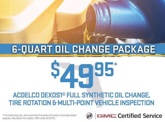 6-Quart Oil Change