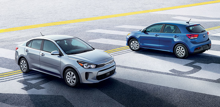 Kia Rio sedan vs hatchback
