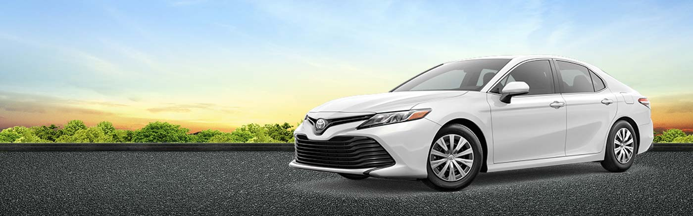 2019 Camry On Road at Dave Edwardss Toyota