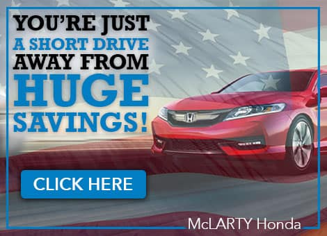 McLarty Honda Huge Savings
