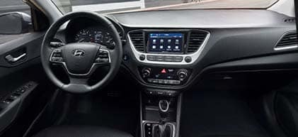 2020 Hyundai Accent Sedan interior