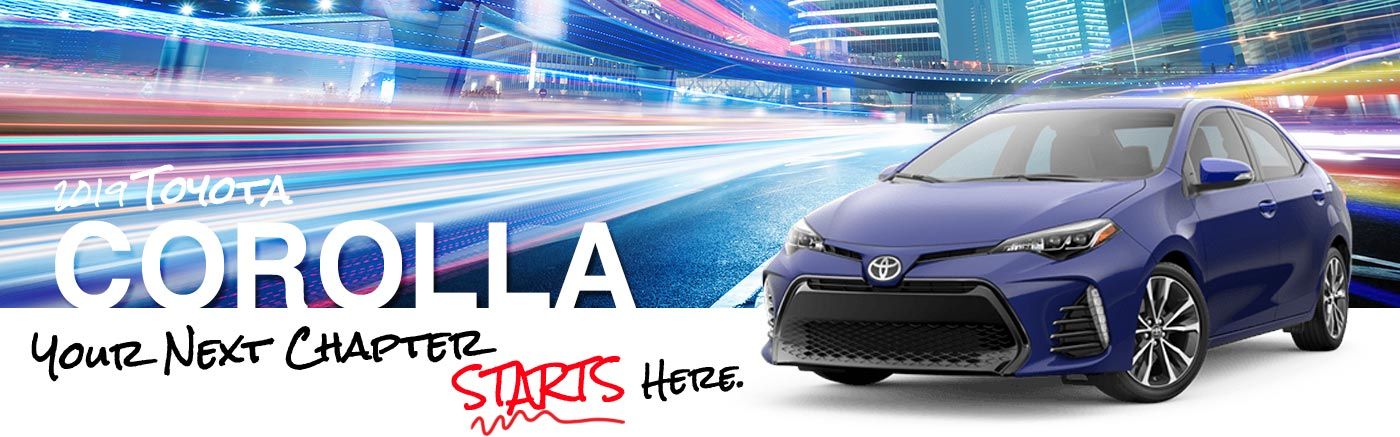 2019 Toyota Corolla Models To Explore In Waycross, GA Near Douglas