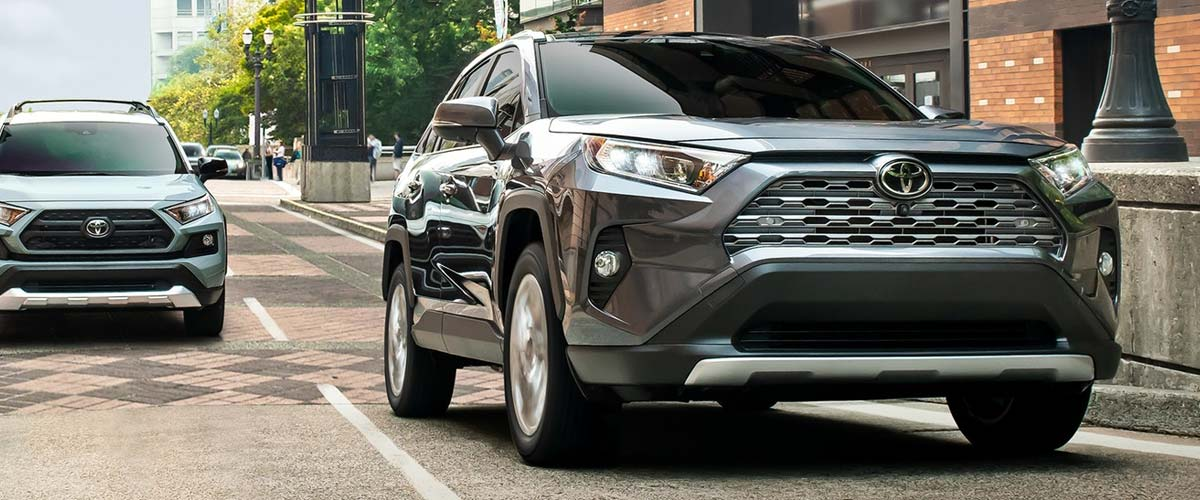 Parks Toyota of DeLand | The 2019 Toyota RAV4 header