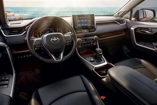 Interior 2019 Toyota RAV4