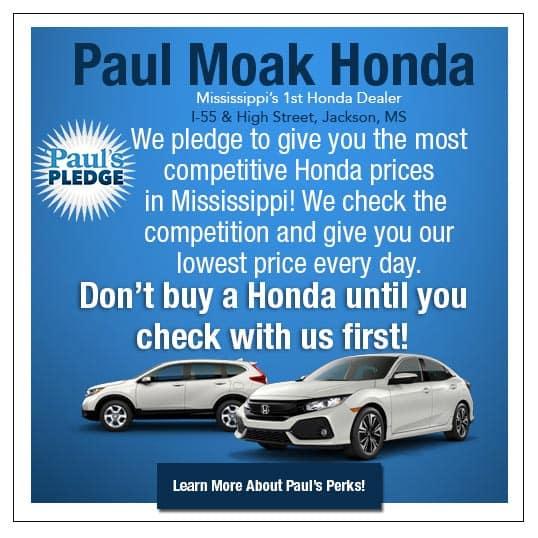 Paul Moak Honda