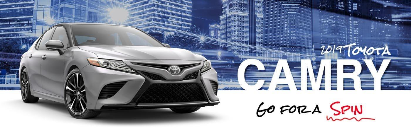 Al Hendrickson Toyota 2019 Camry On Road