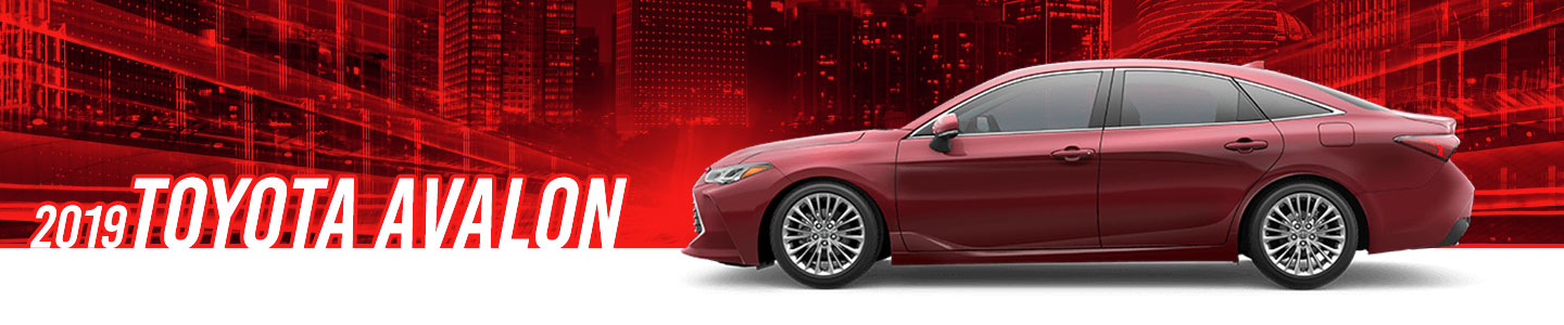 The new 2019 Toyota Avalon at Capital Toyota