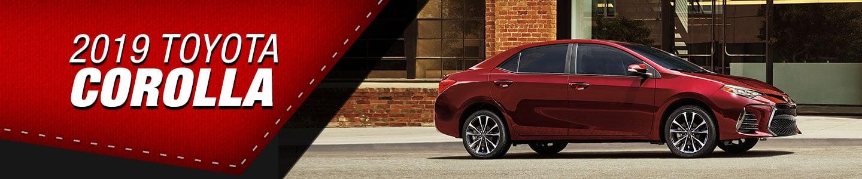 2019 Toyota corolla red
