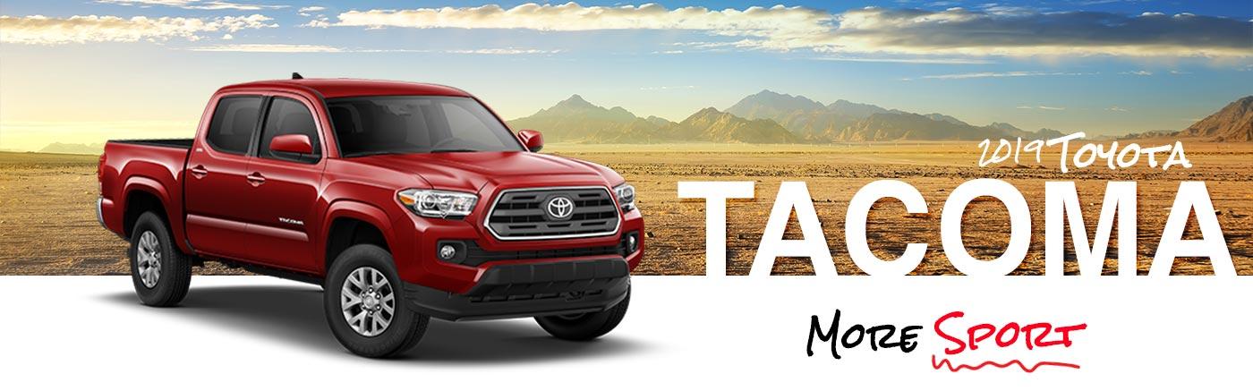 Toyota Tacoma on Road