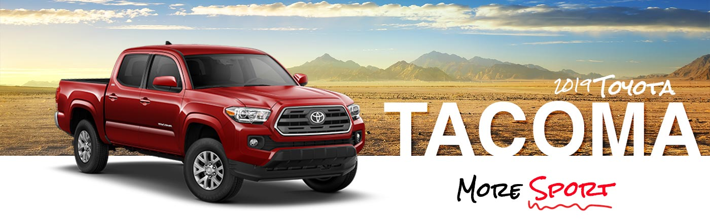 2019 Tacoma On Road