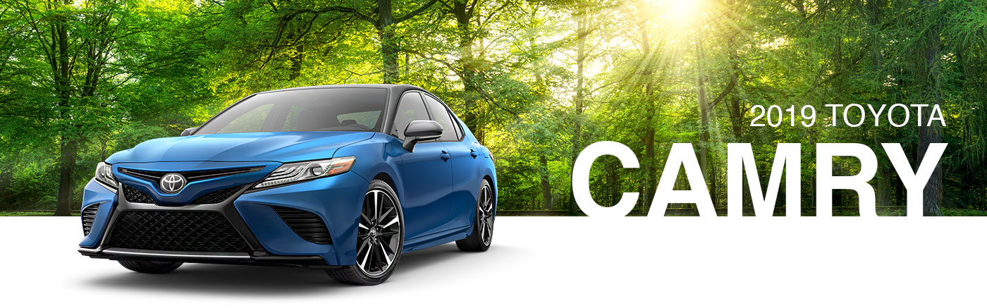 New 2019 Toyota Camry For Sale near Crossville & Livingston, TN