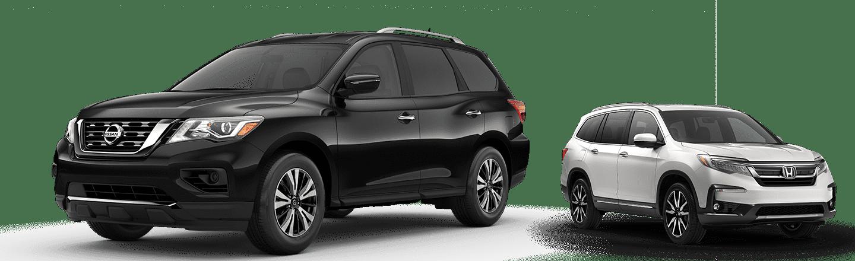 Hubler Nissan 2019 Nissan Pathfinder vs pilot