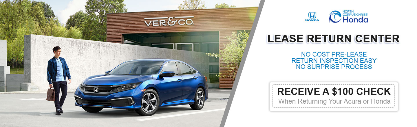 Our Dealership in Corpus Christi, TX Is Your Honda Lease Return Center
