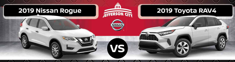 Nissan Rogue Vs Toyota Rav4 >> 2019 Nissan Rogue Vs 2019 Toyota Rav4 Nissan Of Jefferson