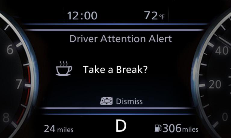 Nissan Intelligent Driver Alertness