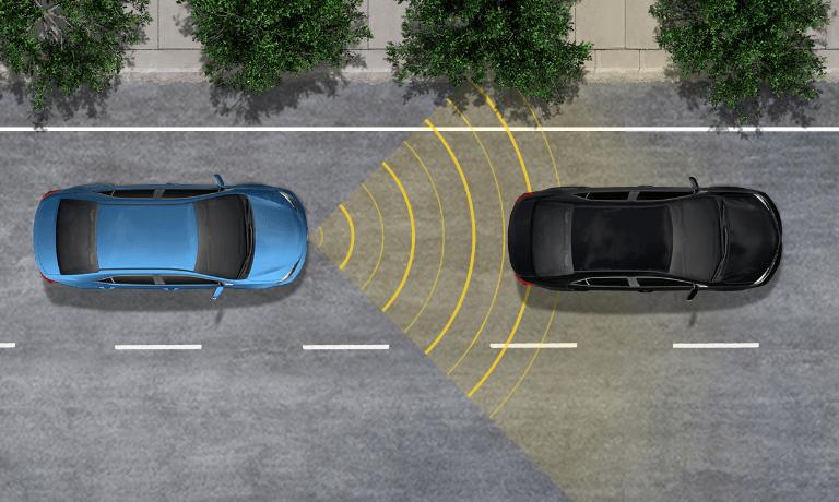 Toyota Dynamic radar cruise control