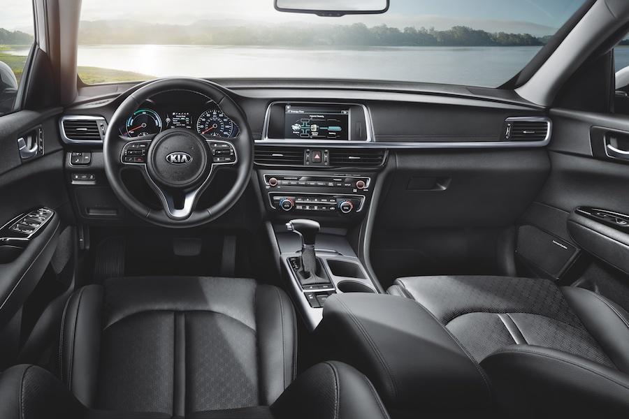 Kia Optima Interior Technology