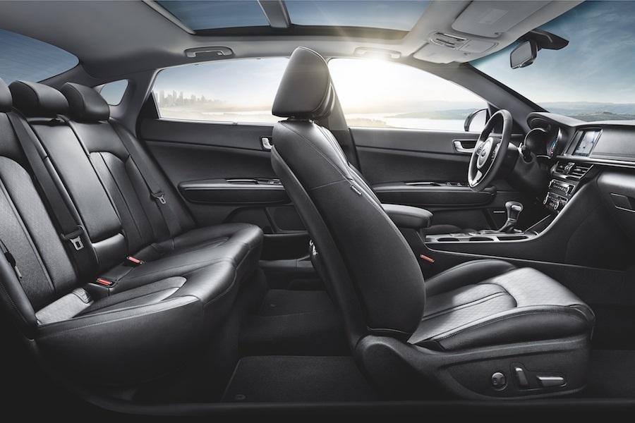 Kia Optima Interior Safety Features
