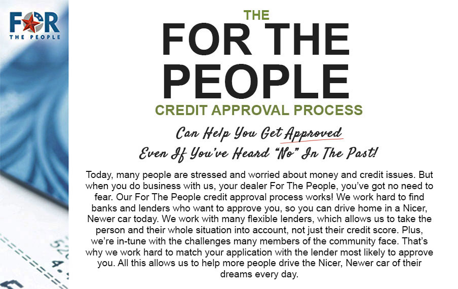 For The People Credit Approval Process