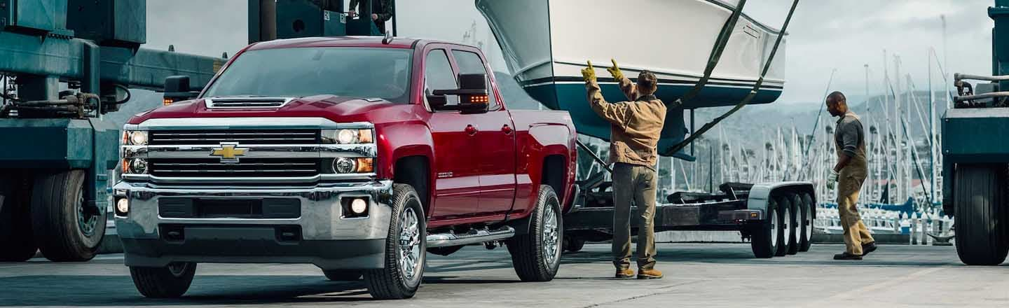 Experience The Heavy Duty 2019 Chevrolet Silverado HD At Maxie Price