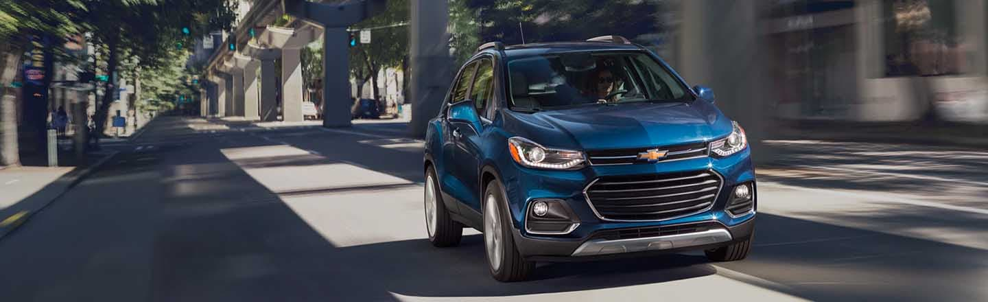 Explore The City In The New 2019 Chevrolet Trax From Maxie Price