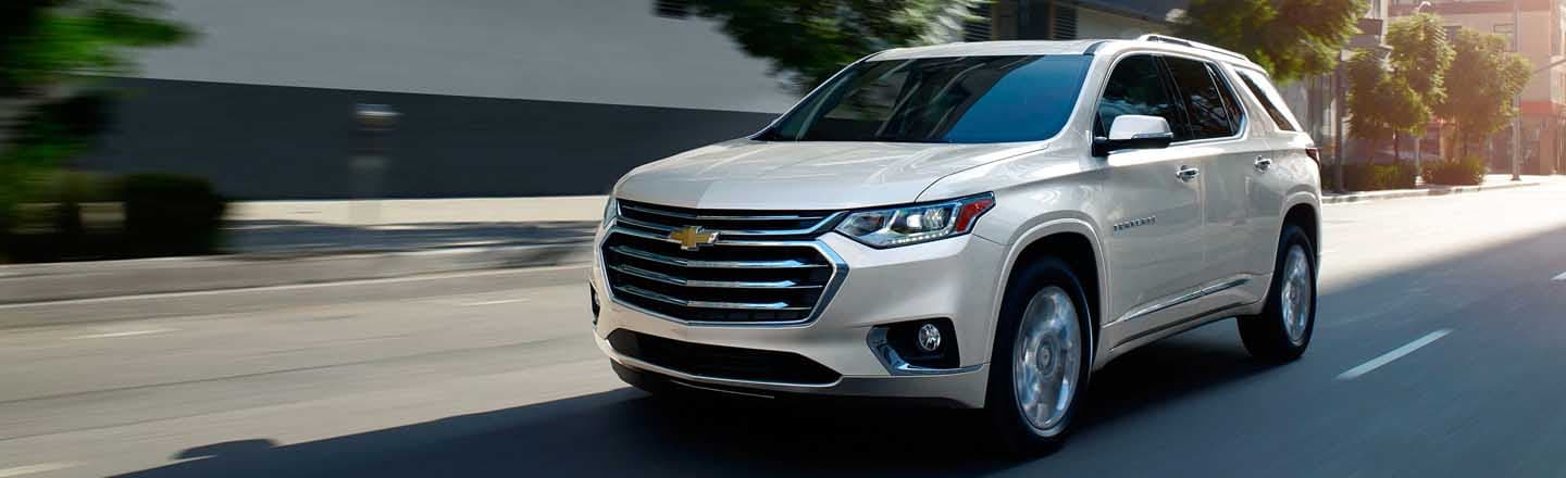 Check Out The Big And Bold 2019 Chevrolet Traverse At Maxie Price