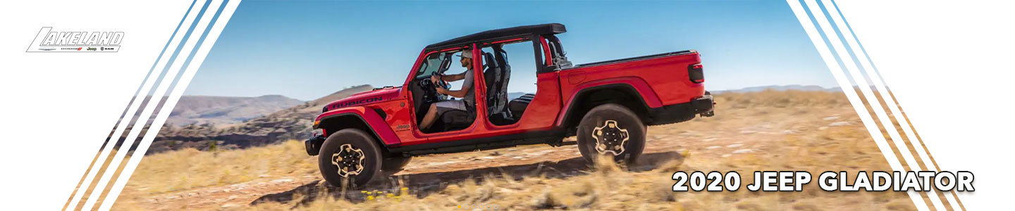 Experience the Rugged 2020 Jeep Gladiator near Tampa, FL