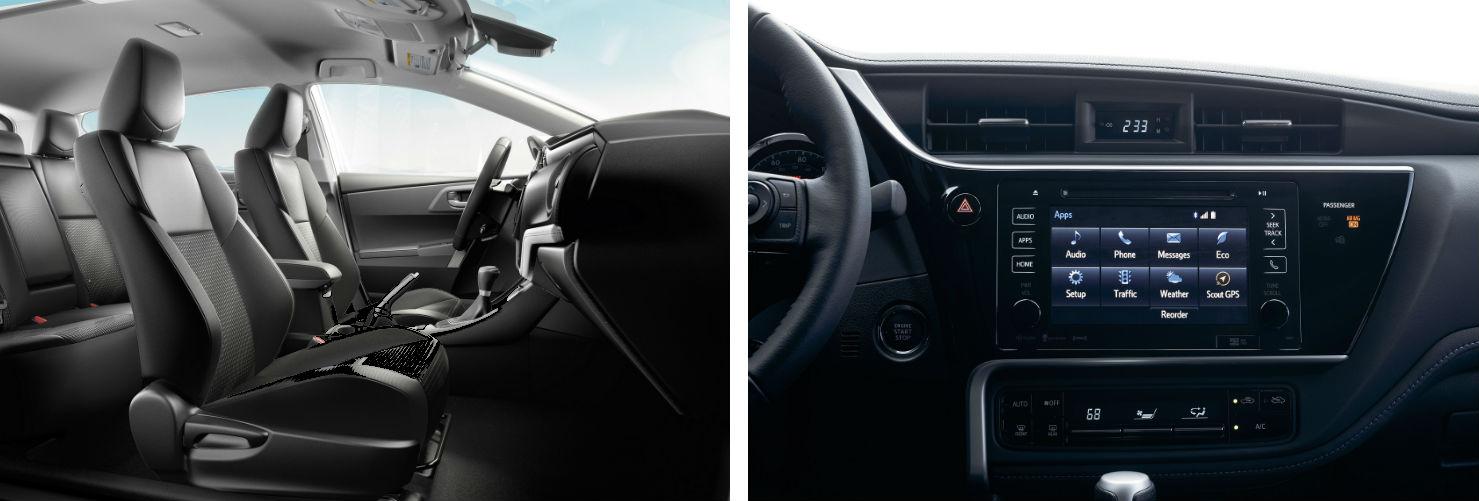 2019 Toyota Corolla Interior - Gilroy, CA