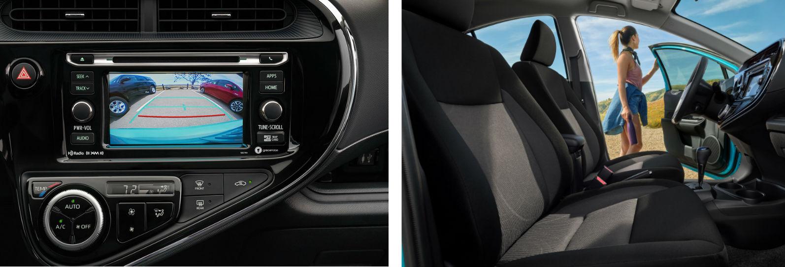 2019 Toyota Prius C Interior - Gilroy, CA