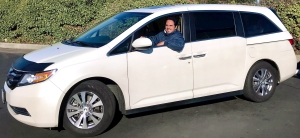 Shottenkirk Honda of Davis Shuttle Van