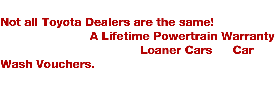 about lifetime warranty