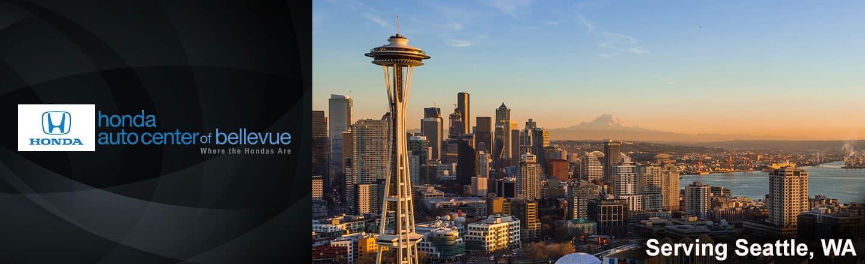Honda Auto Center of Bellevue is now serving Seattle, Washington drivers