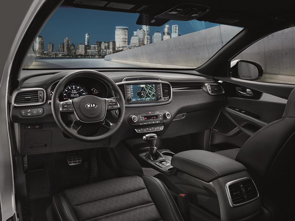 Kia Sorento Interior Technology