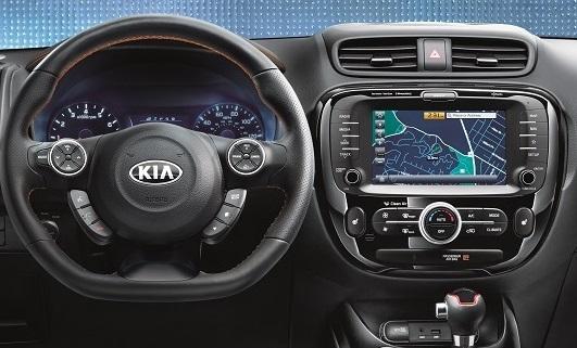 2019 Kia Soul Interior Technology