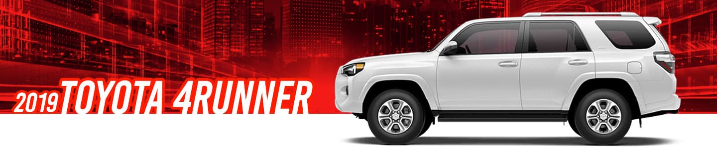 Get the new 2019 Toyota 4Runner today at Capital Toyota