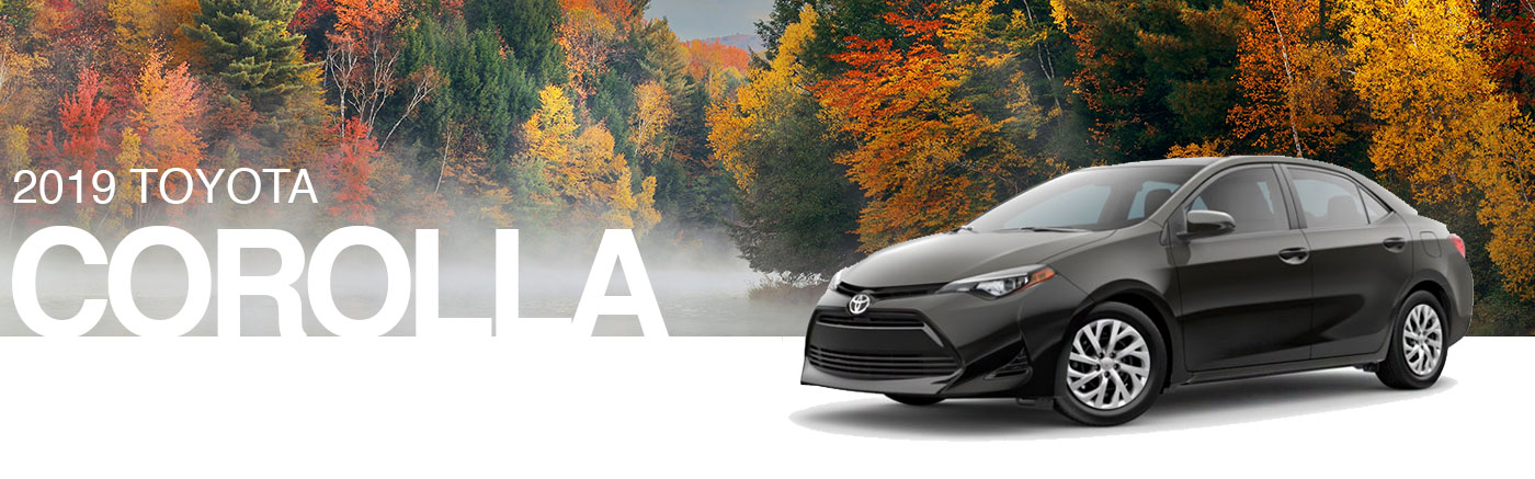 Shop The 2019 Toyota Corolla Sedan Lineup In Kirkland, WA Near Renton