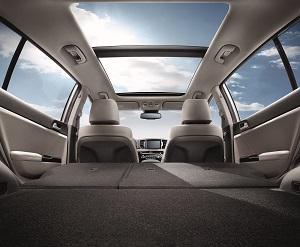 Kia Sportage Interior Safety Technology