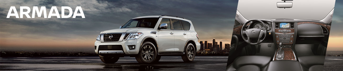 2019 nissan armada open land sunset