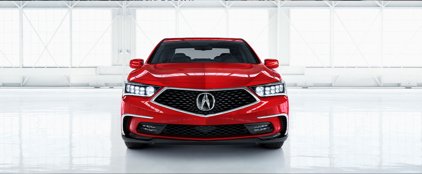 Front view of 2019 Acura RLX