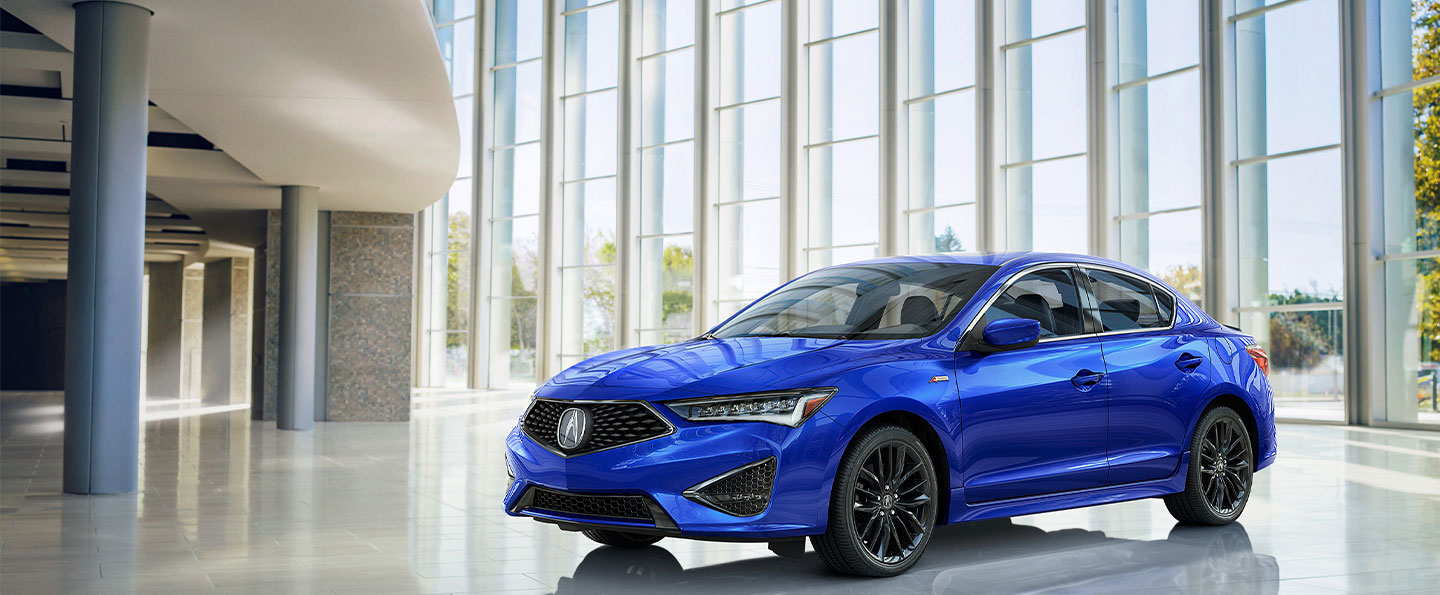 Rear view of 2019 Acura ILX