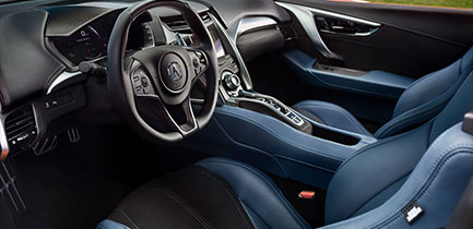 Interior 2019 Acura NSX