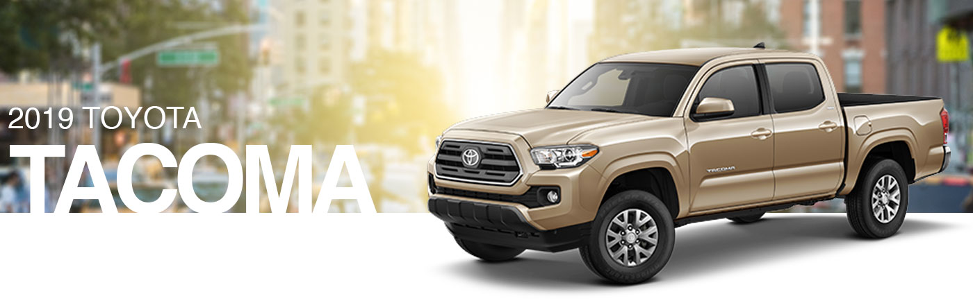 2019 Toyota Tacoma for sale at New Rochelle Toyota