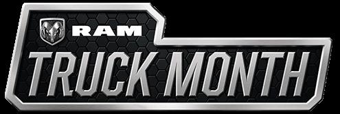 2019 Ram Truck Month logo