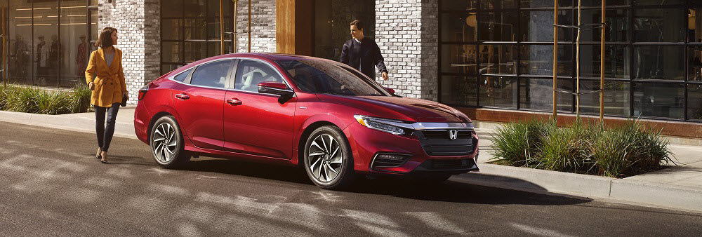 2019 Honda Insight Crimson