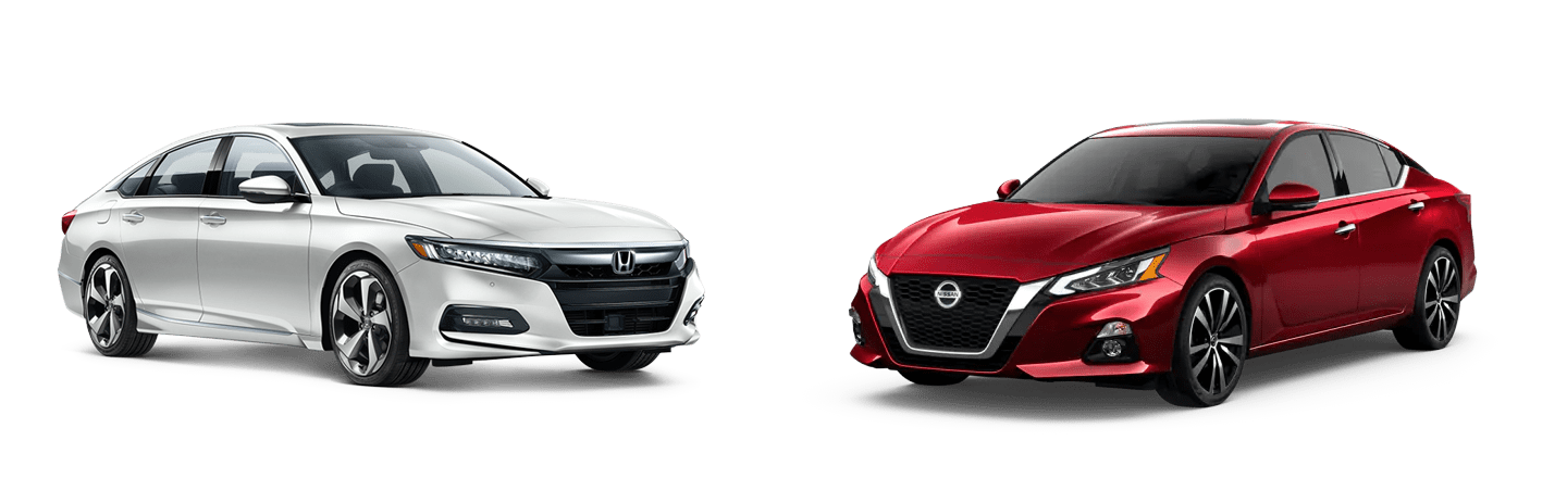 2019 Honda Accord vs. 2019 Nissan Altima in Fishers, Indiana