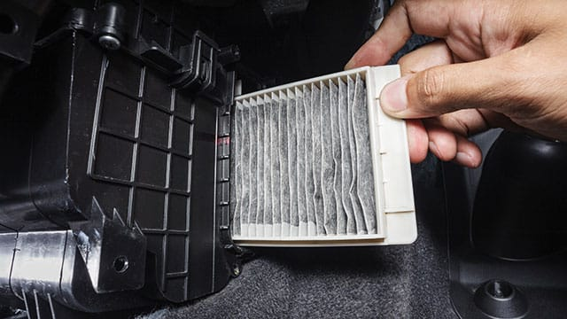 Removing dirty filter