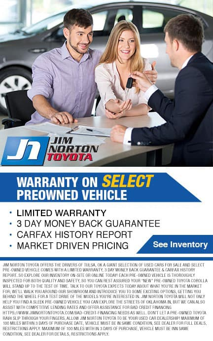 Warranty on Every preowned vehicle 3 months 3,000 miles