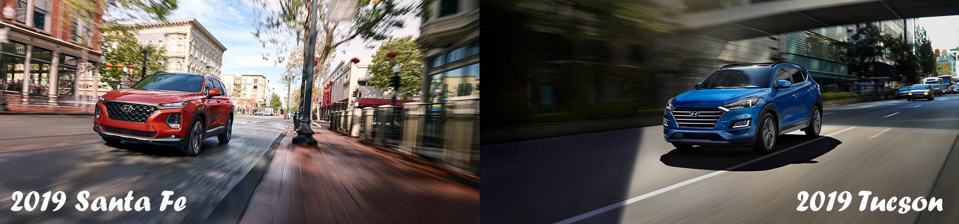 Performance Features of the 2019 Hyundai Santa Fe and 2019 Hyundai Tucson | Freedom Hyundai of Hamburg